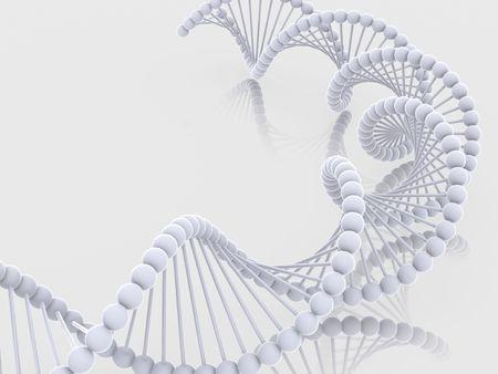 Geni nel DNA. 3D Archivio Fotografico
