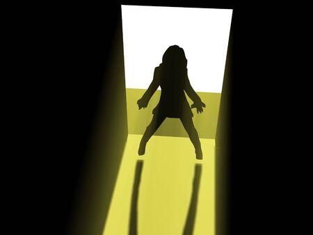 SILHOUETTE IN DOORS photo
