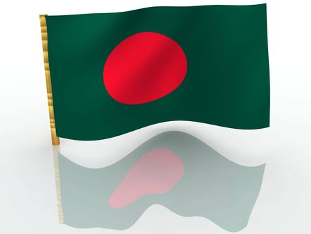 Bangladesh. National Flag photo