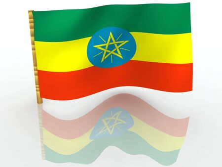 ethiopia flag: Ethiopia. National Flag