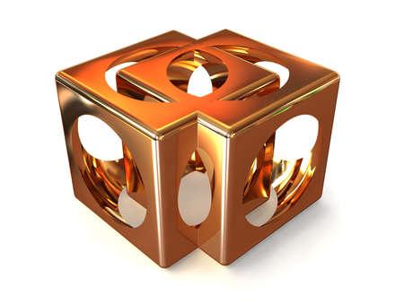 ebox: box. 3d  Stock Photo