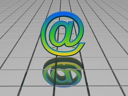 Symbol 3d  Stock Photo - 9794093