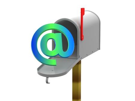 addressed: cassetta postale 3d
