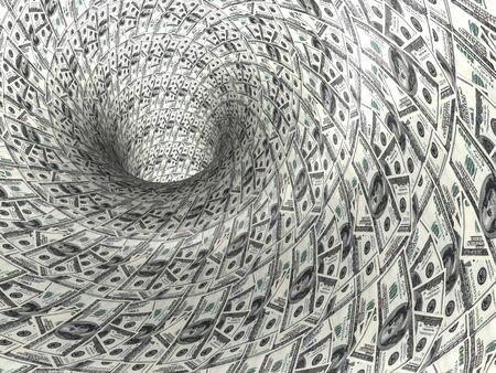 letra de cambio: Dólar. 3d