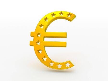 euro symbol Stock Photo - 18318024