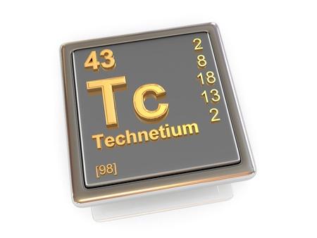 Technetium  Chemical element  3d photo