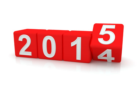 new Year: Felice Anno Nuovo 2015. 3d