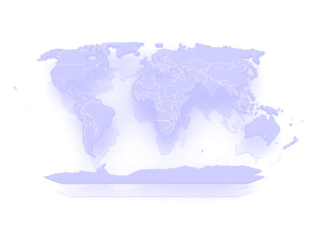 sovereignty: Map of the world. 3d