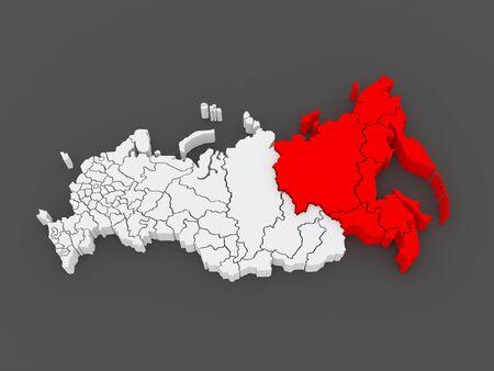 far eastern: Far Eastern Federal District. Russian Federation. Russia