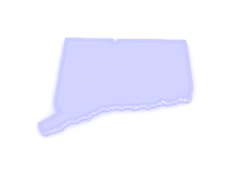 Connecticut State Map Stock Illustrations Cliparts And - Ct usa map