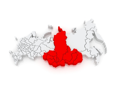 federal district: Siberian Federal District. Russian Federation. Russia