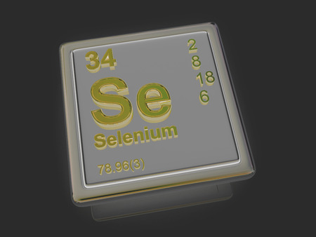 selenium: Selenium. Chemical element. 3d
