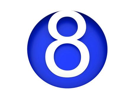 eight: Three-dimensional figures. Eight
