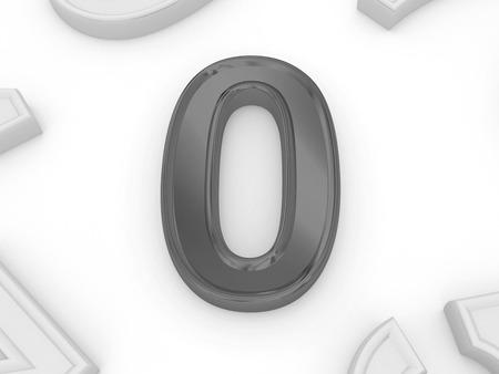 aero: number aero in 3d