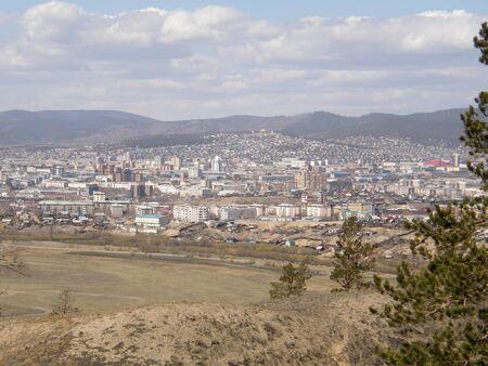 buryatia: View of the city of Ulan-Ude. The Republic of Buryatia. Siberia. Russia.