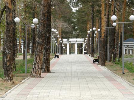 buryatia: Park named Oreshkova. Ulan-Ude. Buryatia. Russia