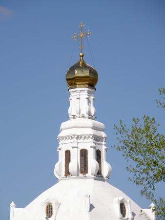 buryatia: Orthodox Church. St. Odigitrievsky Cathedral. Ulan-Ude. Buryatia. Russia Stock Photo