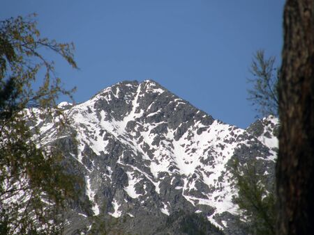 eastern sayan: Peak. Eastern Sayan mountains. The Republic of Buryatia. Russia