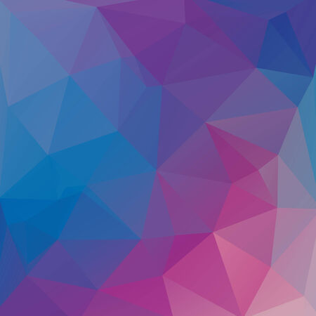 Abstract polygon background with geometric crystal pattern Illustration