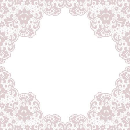 Retro stylish frame, invitation, wedding or greeting card