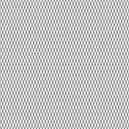 Black patterned net lace on white background