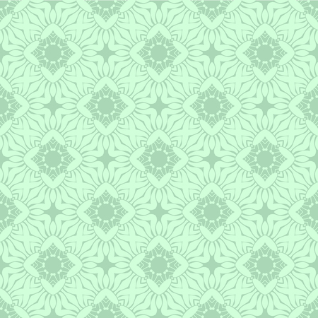 pale green: Decorative geometric pattern forms a pale green color vector
