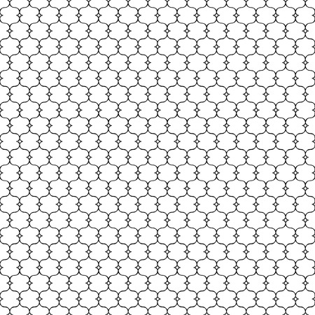 netting: Black patterned net lace on white background