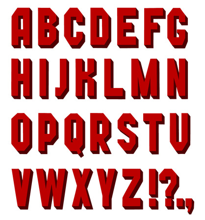 chopped: a simple red Font chopped  handwritten font on a white background