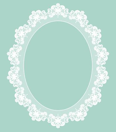 encaje: Retro marco elegante, invitaci�n, boda o tarjeta de felicitaci�n