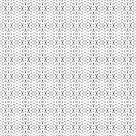 web2: Black patterned net lace on white background