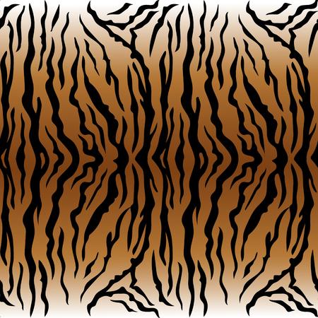 동물 인쇄, 호랑이 질감 원활한 배경 황토색