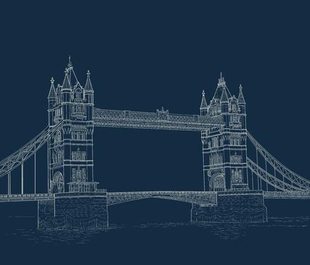Sketch Tower Bridge