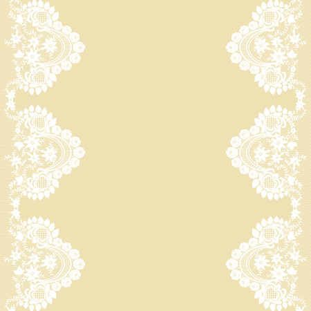 Card with lace Illustration