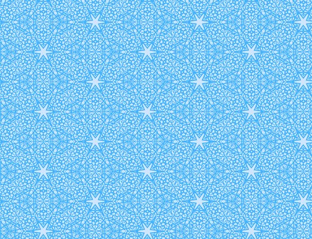 Blue lace pattern Illustration