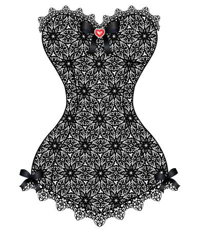 lace vintage corset Фото со стока - 83485271