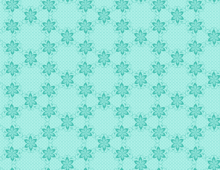 victorian wallpaper: lace floral pattern vector