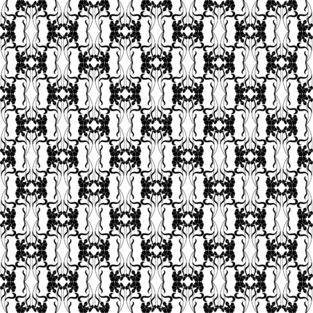 black decorative pattern