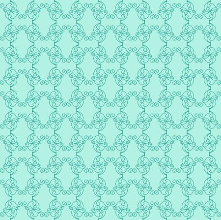decorative green pattern