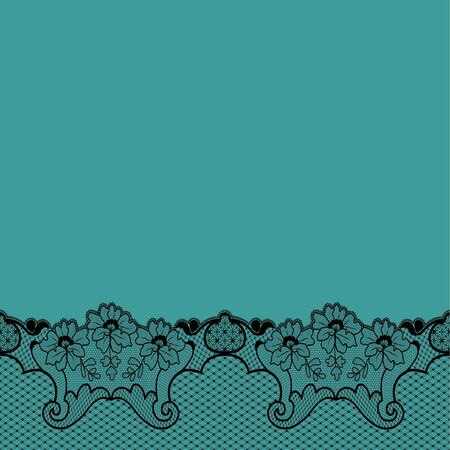 Tifanny blue background with lace, fashion background.
