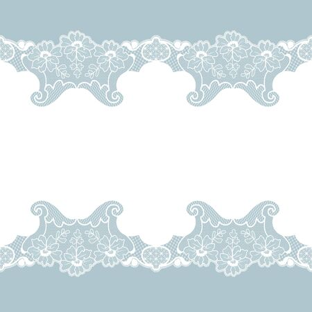 card with lace borders, suitable for greeting card.