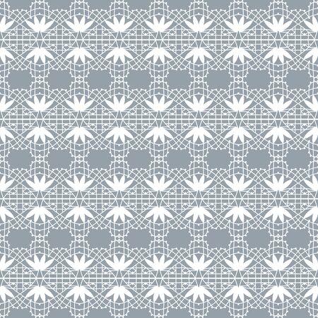 white lace pattern Ilustração