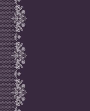 Background with lace Иллюстрация