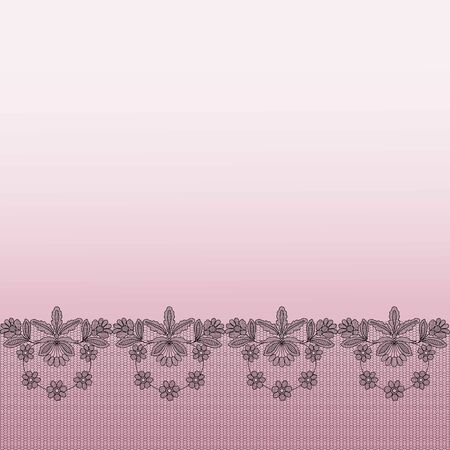 Background with lace Illustration