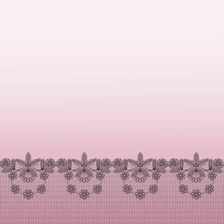 Background with lace Ilustração