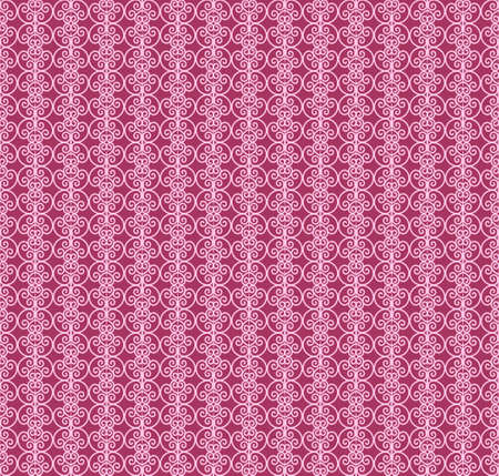 Sophisticated seamless abstract pattern on the pink background Иллюстрация