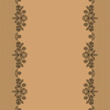 Background with lace Standard-Bild
