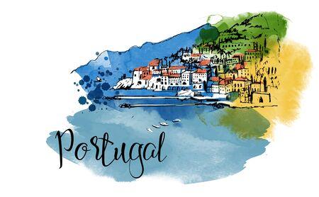 Portugal card design