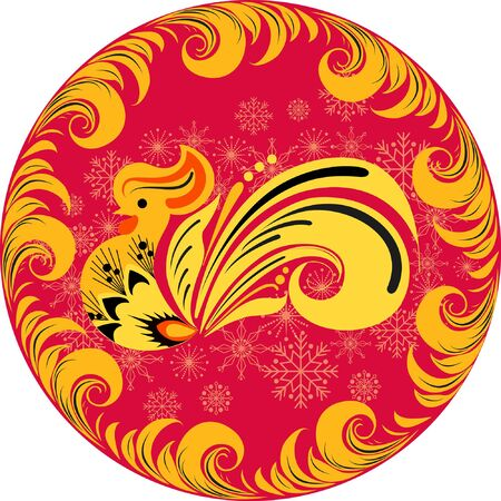 holiday: Holiday rooster