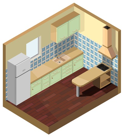 isometric 3d top and sandy brown table top