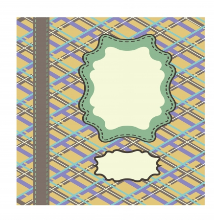 Template design for card or background, Can be used for packaging,invitatio ns,template,artwork Decorative element border Pastel colour illustration  Vector